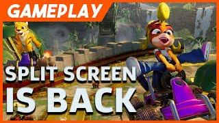 Crash Team Racing: Nitro Fueled - Split Screen Mayhem