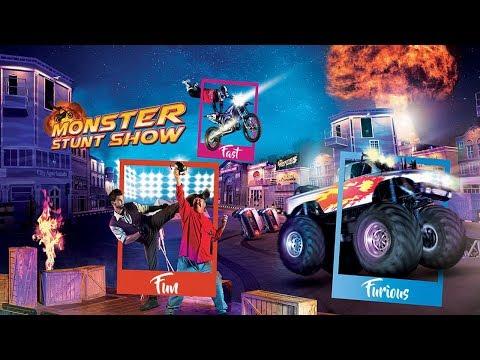 Monster Stunt Show  Global Village Dubai