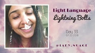 Light Language - Lady Nuage - Lightning Bolt #33