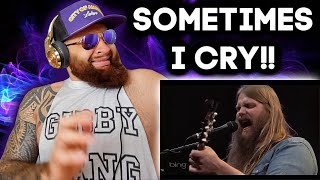 CHRIS STAPLETON - SOMETIMES I CRY (Live Bing Lounge) - COUNTRY REACTION!