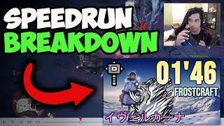 ~Speedrun Breakdown~ 01'46 Velkhana Hammer【MHWI】