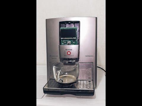 Руководство по замене экрана кофемашины  Нивона - Nivona coffee machine display replacement tutorial