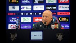 Genoa-Cagliari, la conferenza stampa pre-gara