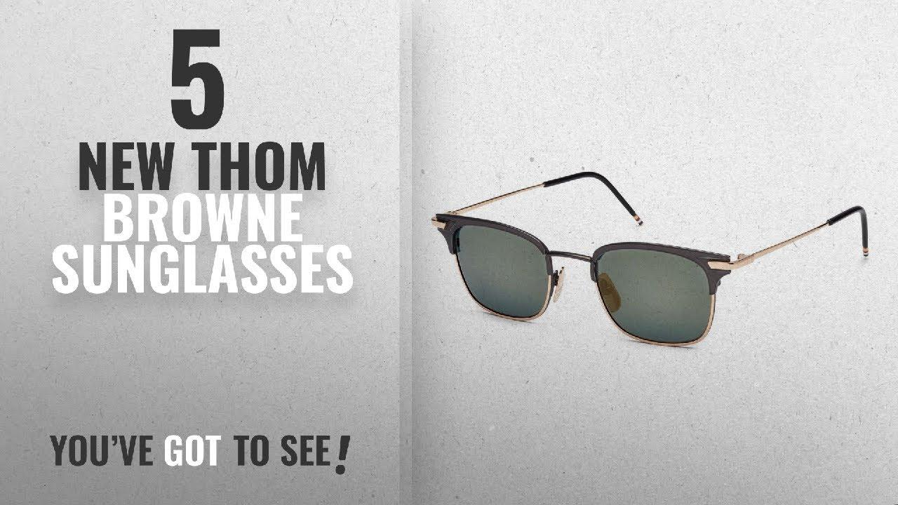 5f6b6022aab Top 10 Thom Browne Sunglasses   Winter 2018    Thom Browne TB-102 ...