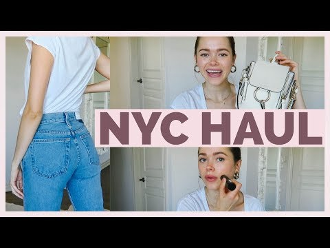 NYC Try-On Haul | Redone, Chloe, 8greens, Beauty Firsts