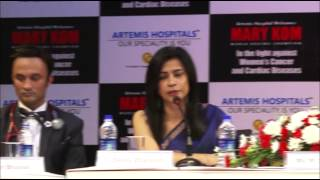 Women's Cancer and Cardiac Diseases Camp At Artemis Hospital, Gurgaon.