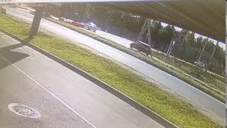 Пересечение Колтушского шоссе и ул. Крымской. Авария