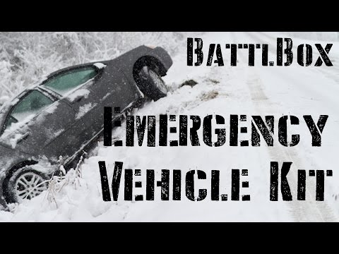 Winter Emergency Vehicle Kit: BattlBox Mission 10