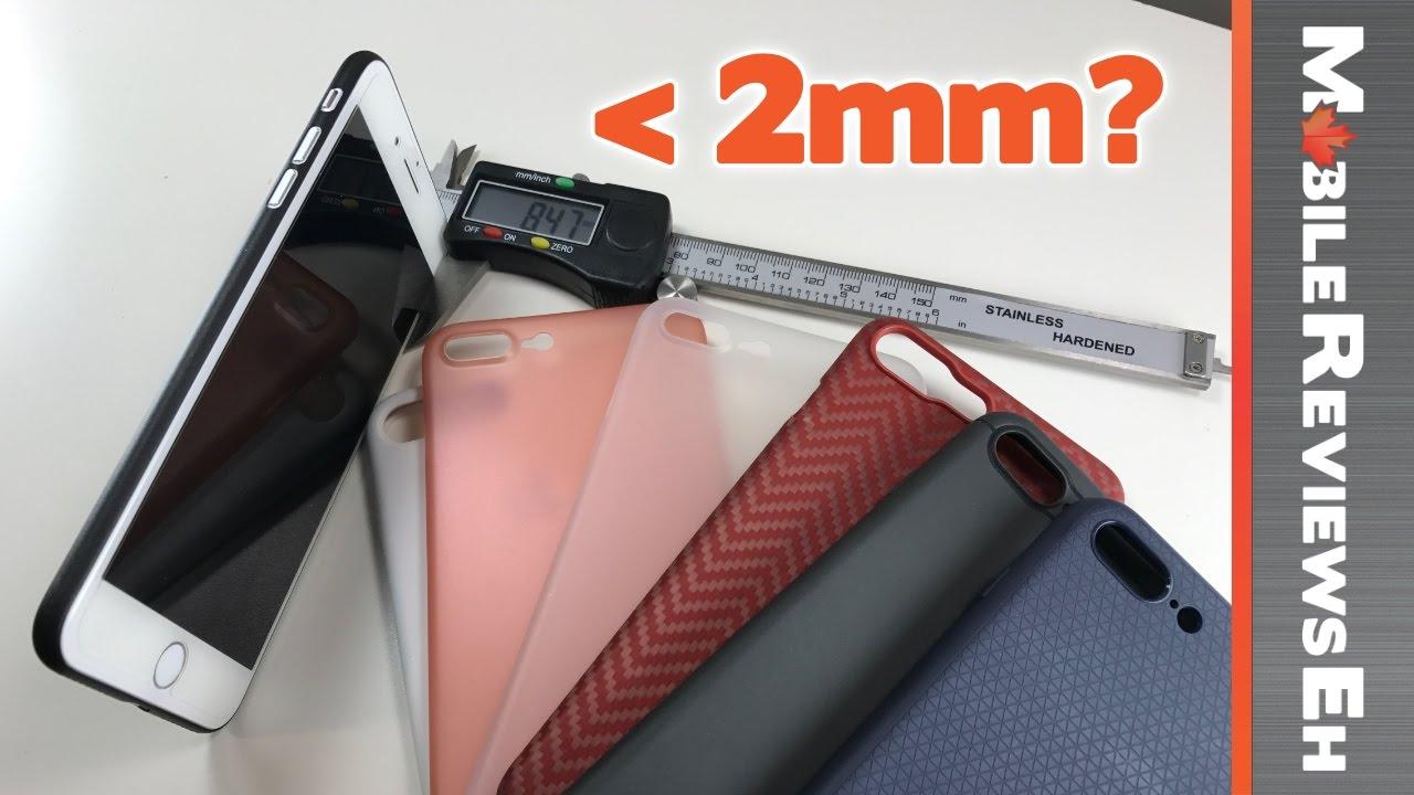 Top 10 Ultra-Thin/Minimalist iPhone 7 Cases - Thin Fit 360, Pitaka ...