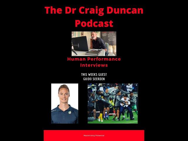 #7 Dr Craig Duncan Interviews - Guido Seerden