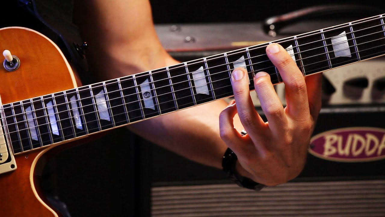 How To Play The Octave Position Heavy Metal Guitar Youtube