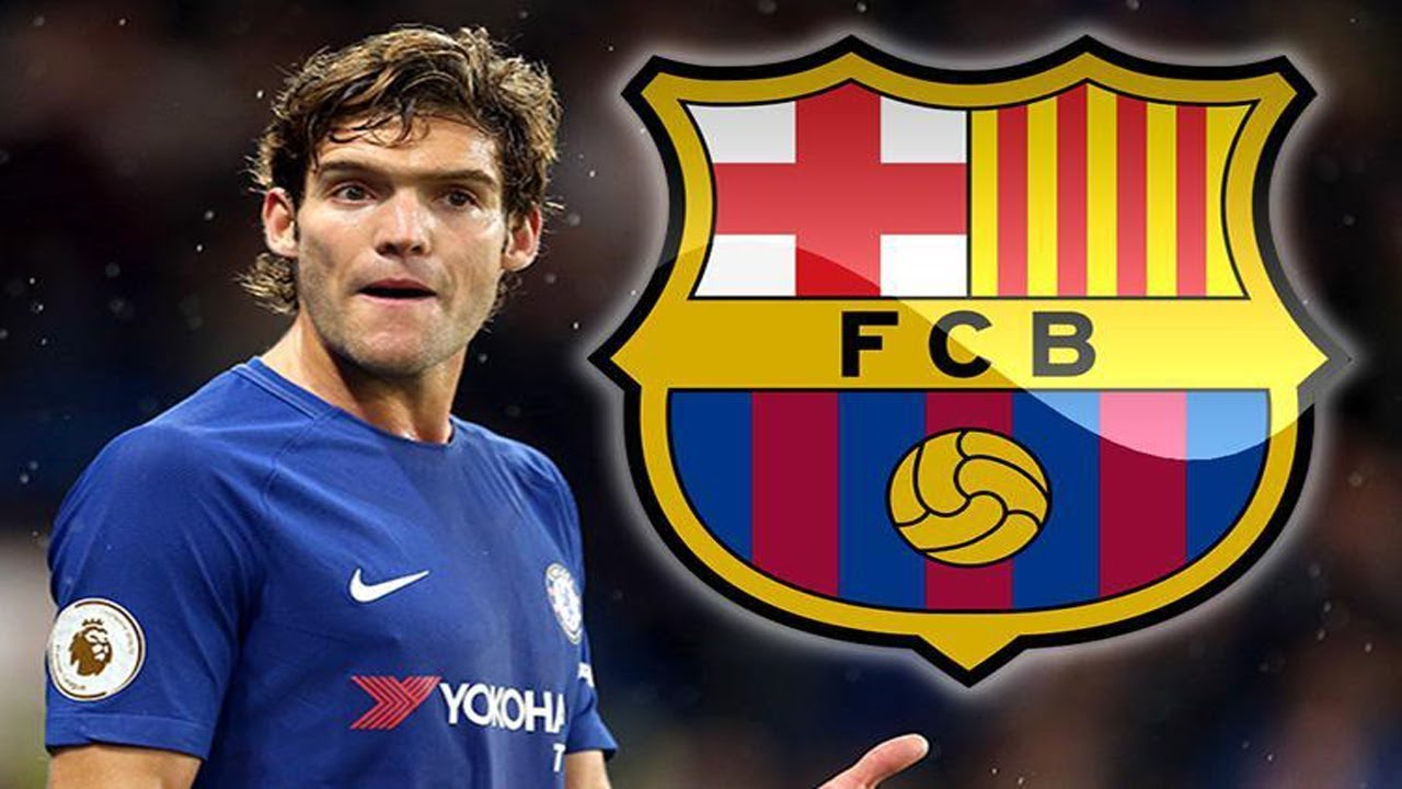 Barcelona FC eye move for Marcos Alonso as long term replacement for Gerard  Pique ● News Now ● #FCB