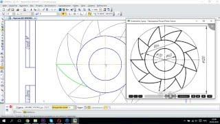 Компас-3D. Урок 2а: Выполнение чертежа с помощью массивов.