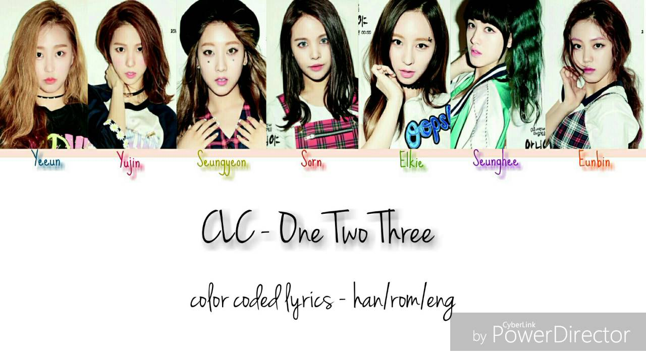 CLC – One Two Three