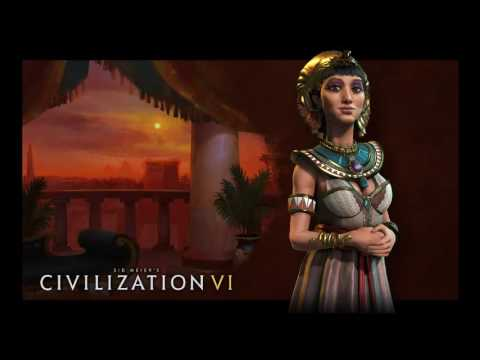 Civ 6 Egypt Cleopatra Theme music Full