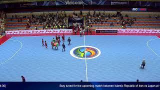 M17 - Afghanistan vs Indonesia - AFC U-20 Futsal Championship - IR Iran 2019