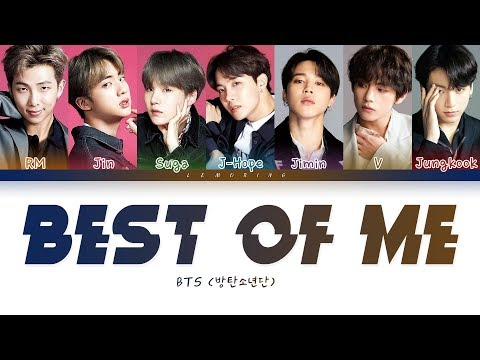 BTS - Best Of Me ( - Best Of Me) [Color Coded Lyrics/Han/Rom/Eng/]