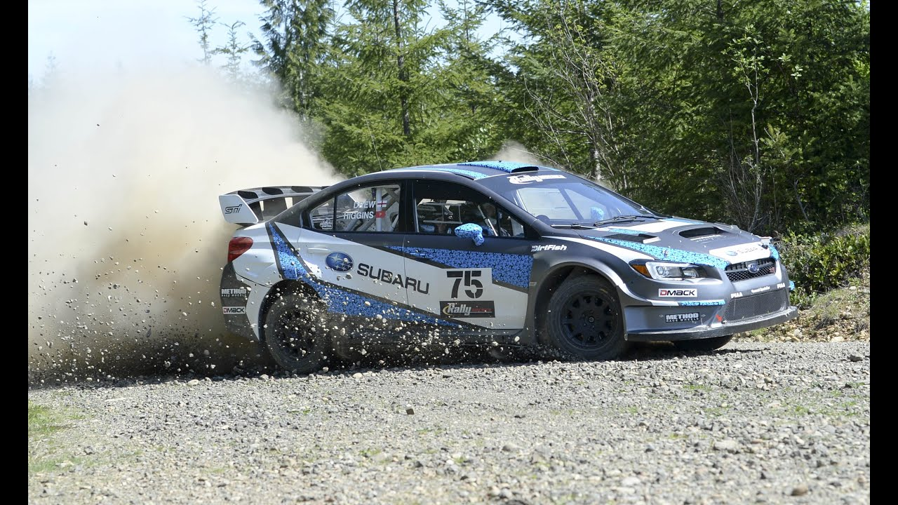 Subaru WRX STI Rally Car #75 - YouTube