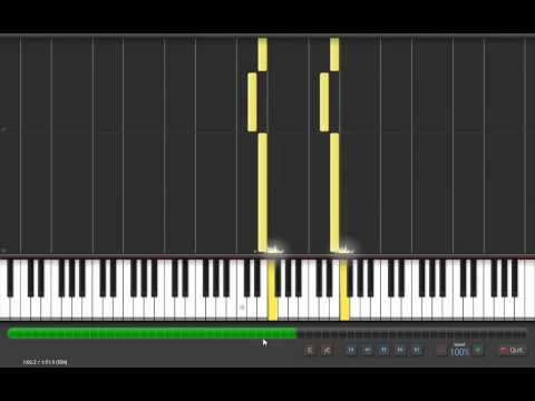 how to play minecraft theme song on piano