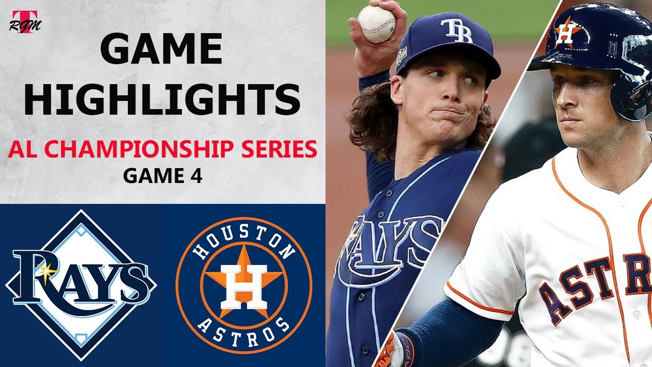 Tampa Bay Rays vs. Houston Astros Game 4 Highlights | ALCS (2020)