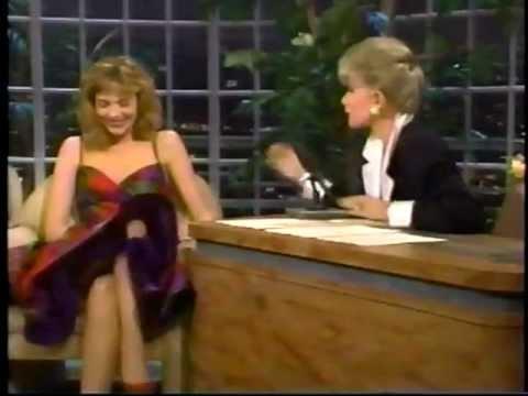 Kim Cattrall on Joan Rivers  in 1987