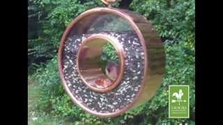 Good Directions Fly-thru Bird Feeder 111vb - Venetian Bronze