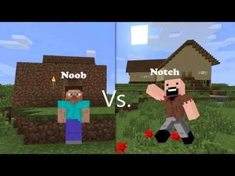 Noob Vs. Notch (Minecraft)