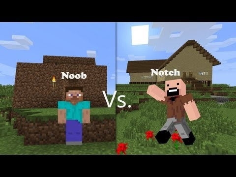 Thumbnail: Noob Vs. Notch (Minecraft)