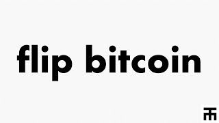 Flipping Bitcoin for Profit, using my free Cryptocurrency Arbitrage Strategy