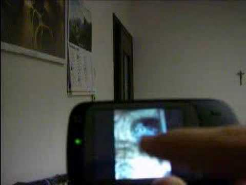 HTC Touch Dual - Touch Gesture