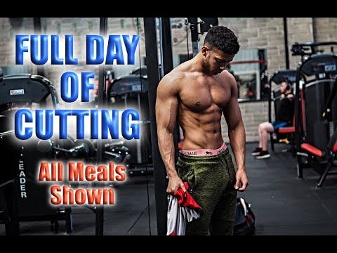 FULL DAY OF CUTTING  (All Meals Shown)