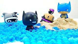 Мультики Супергерои: Распаковка Pint Size Heroes