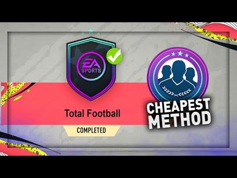 FIFA 20: TOTAL FOOTBALL SBC!! (CHEAPEST METHOD)