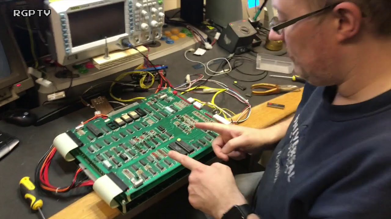 Bally/Midway TRON Arcade PCB Repair - follow up about sound problems