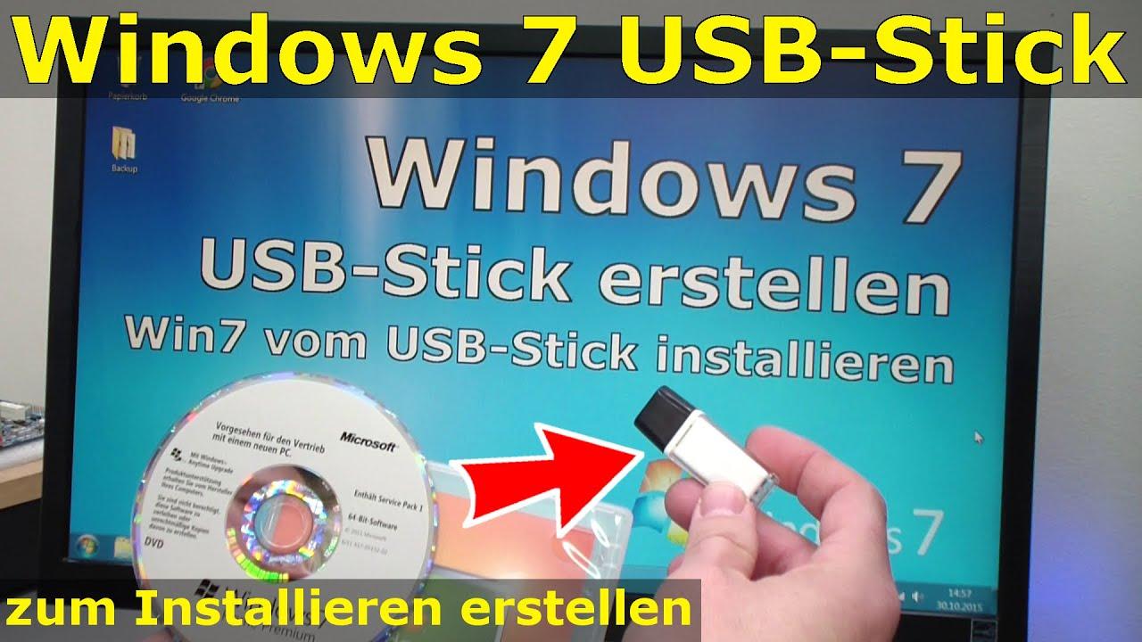 Iso image mit windows 7 erstellen