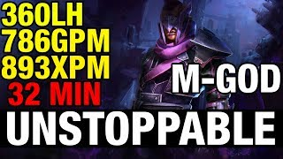 UNSTOPPABLE - MIRACLE- GOD Plays Anti-Mage - Dota 2