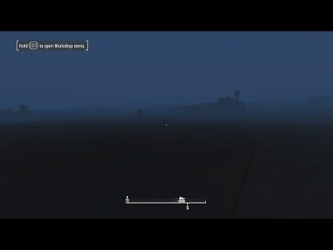 Fallout 4 PS4 Large Barge Settlement! PS4 HUGE