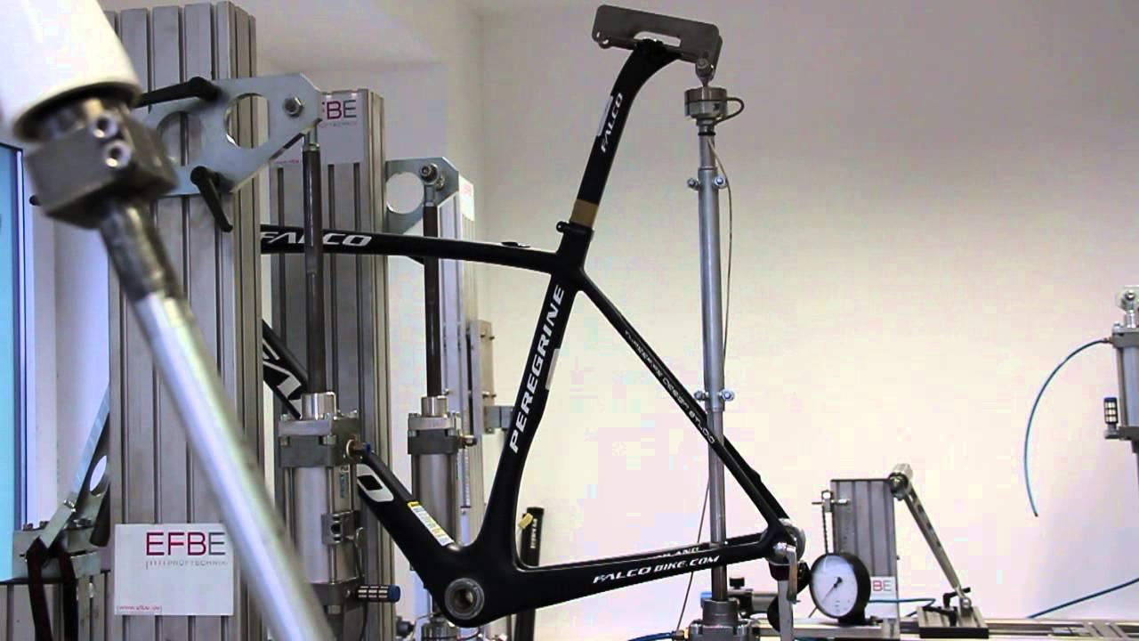 falco bike peregrine frame efbe fatigue test top. Black Bedroom Furniture Sets. Home Design Ideas