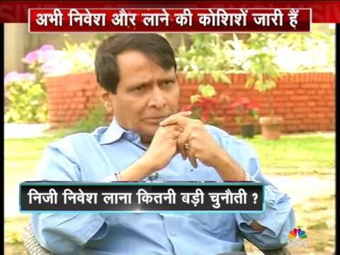 Cnbc Awaaz Exclusive : Suresh Prabhu