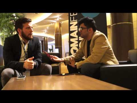 Brian Michitti Sedo domain Broker Interview at Domainfest  2015