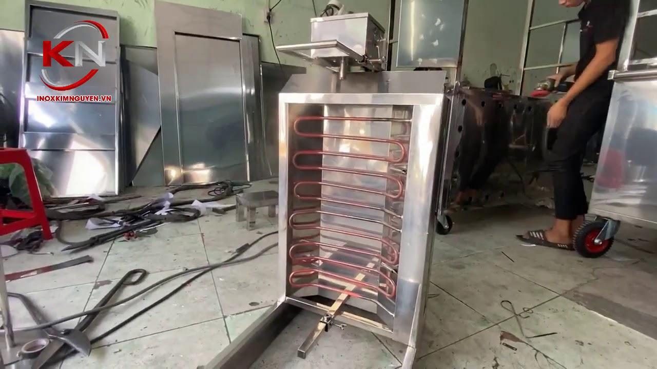 Lò Nướng Thịt Bánh Mì Thổ Nhĩ Kỳ - Inox Kim Nguyên - YouTube