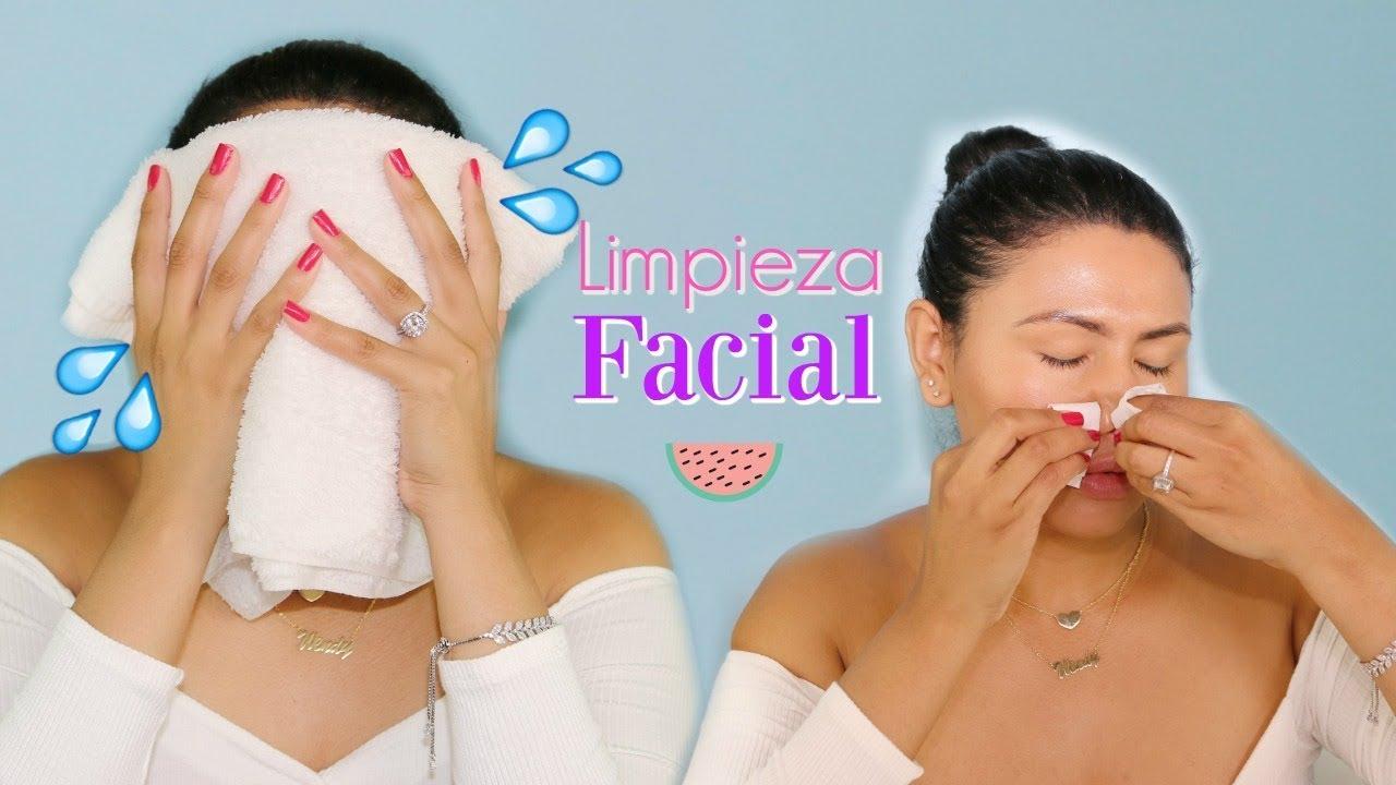 Como hacer una limpieza facial para cutis graso