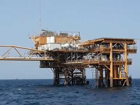 Iran OIL FIELD , flatform