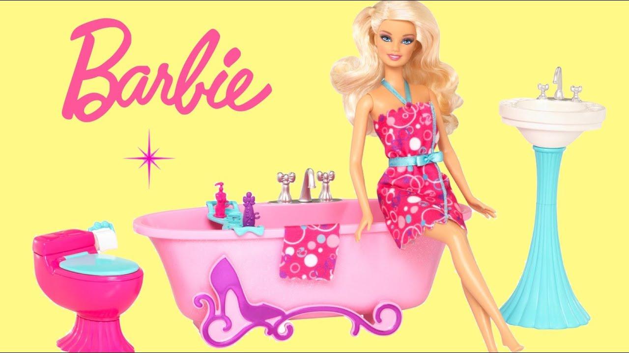 Barbie Life In The Dreamhouse Barbie Glam Bathroom