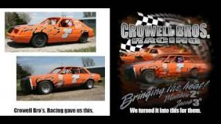 Custom Race Car Shirts Silk Sceening