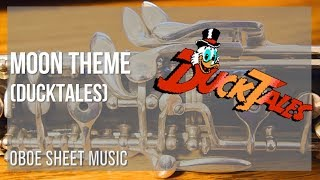 EASY Oboe Sheet Music: How to play Moon Theme (Ducktales) by Yoshihiro Sakaguchi