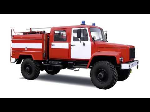 Звуки пожарной машины