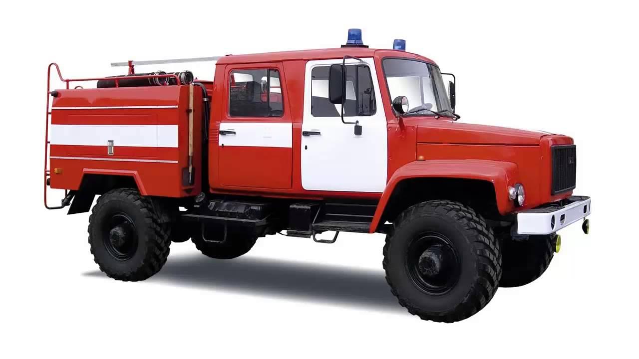 Звуки пожарной машины - YouTube