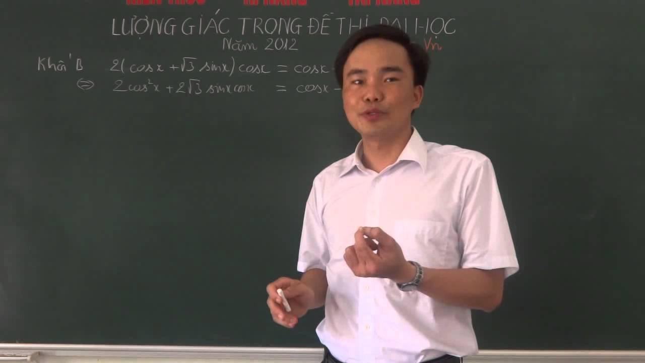 Giải đề thi đại học 2012 Môn Toán khối A-B-D Phần Lượng giác[http://zuni.vn/]]