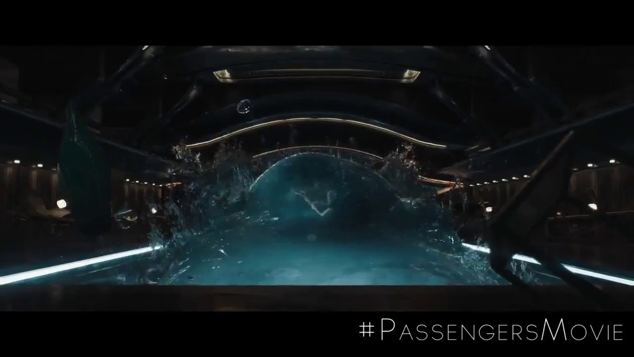 Passengers 39 gravity pool 39 clip 2 youtube for Passengers spaceship